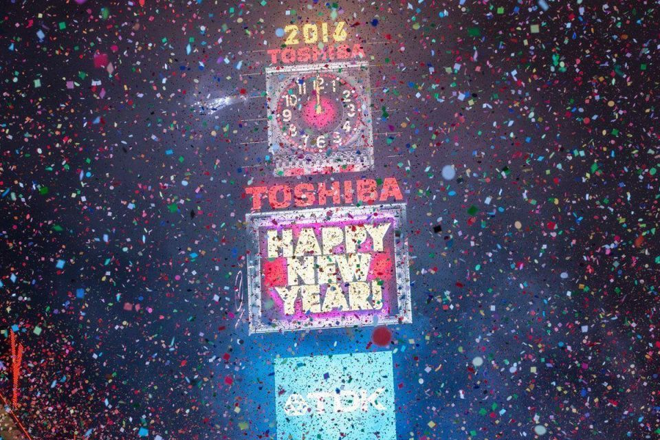2016: Best New Year's Eve fireworks