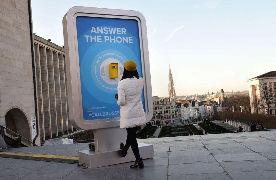 #callbrussels campaign