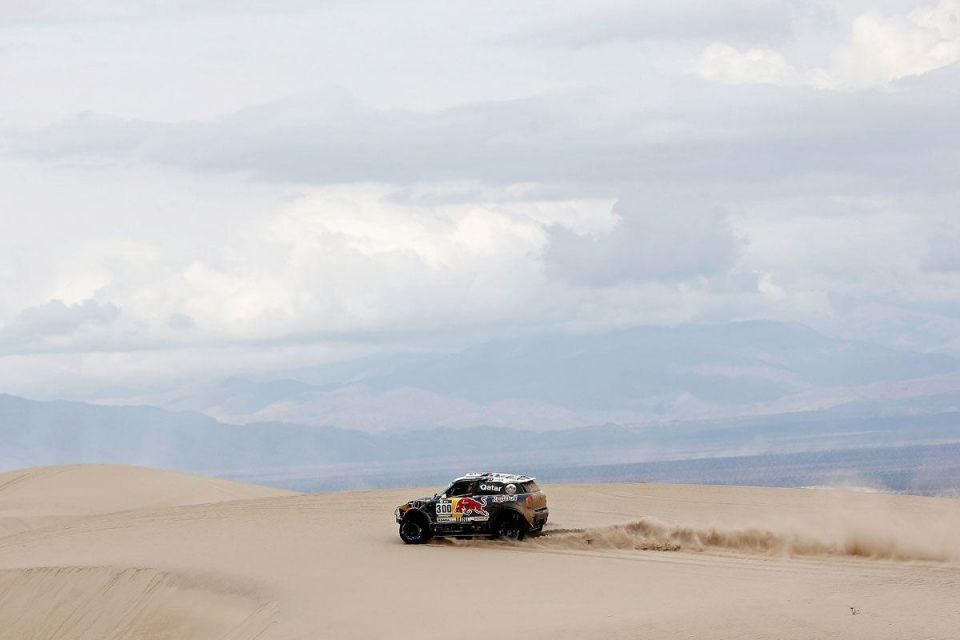 Nasser Al-Attiyah of Qatar at Dakar 2016