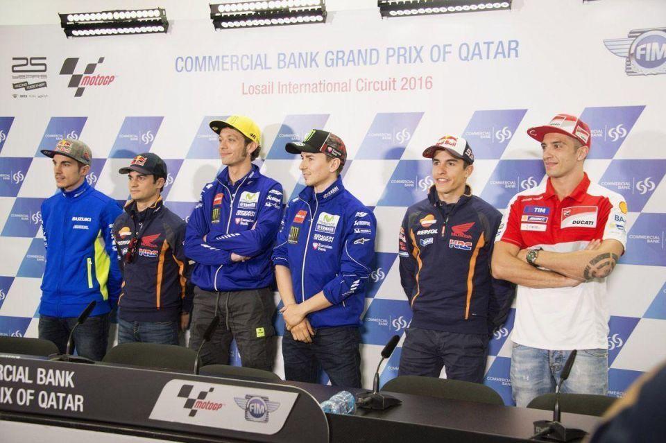 MotoGp of Qatar at Losail Circuit