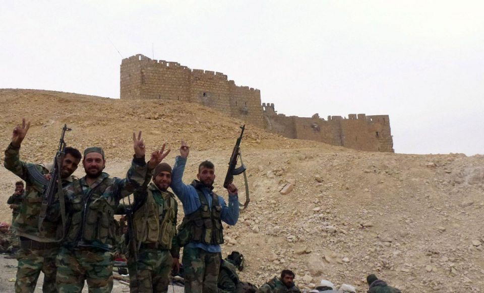 Syrian army recaptures Palmyra from ISIL
