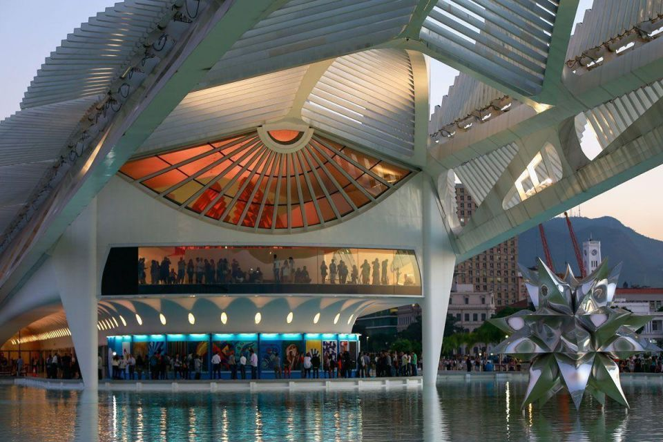 In pictures: Olympic Boulevard 'Museum of Tomorrow' for Rio