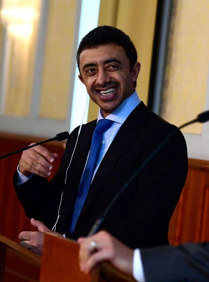 In pictures: UAE Foreign Minister Abdullah Bin Zayed Al Nahyan in Budapest