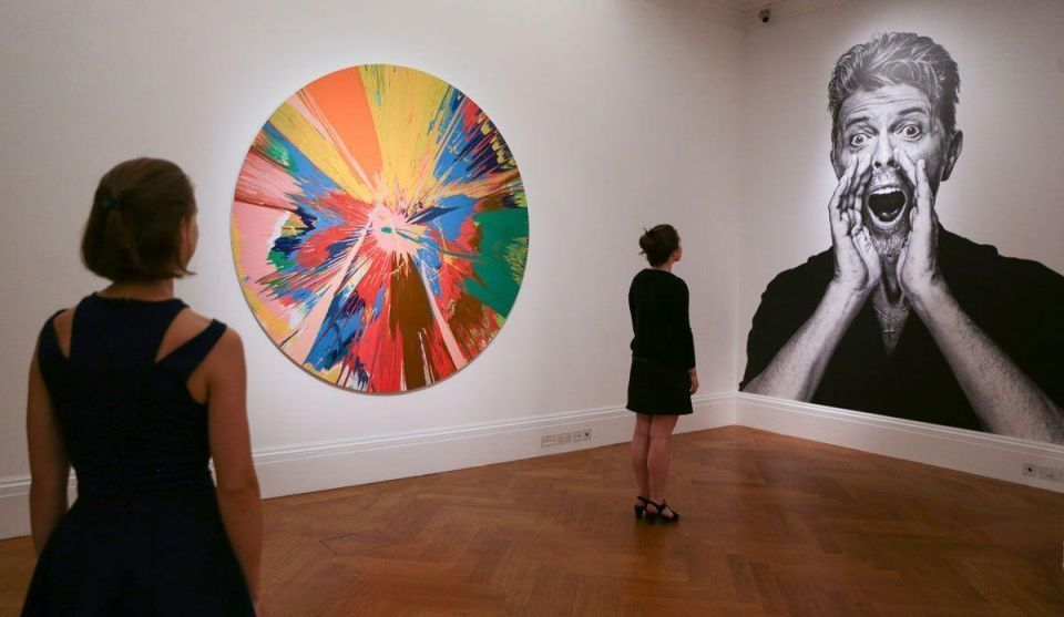 Video: David Bowie's art collection hits the auction block