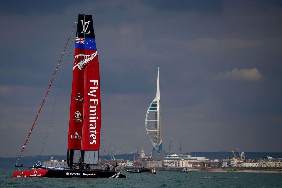 In pictures: Louis Vuitton America's Cup World Series 2016 in Portsmouth