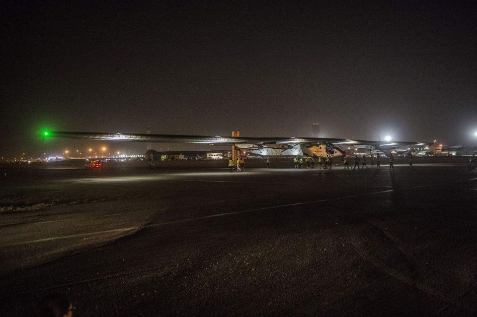 In pictures: Solar Impulse 2 heads to Abu Dhabi on the final leg of its world tour