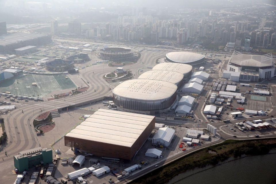In pictures: Aerial view of Rio 2016 Olympic Games preparation