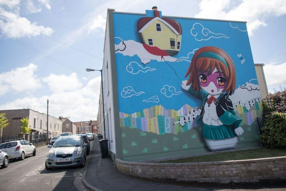 In pictures: Upfest 2016 Europe's largest free street art and graffiti festival in Bristol