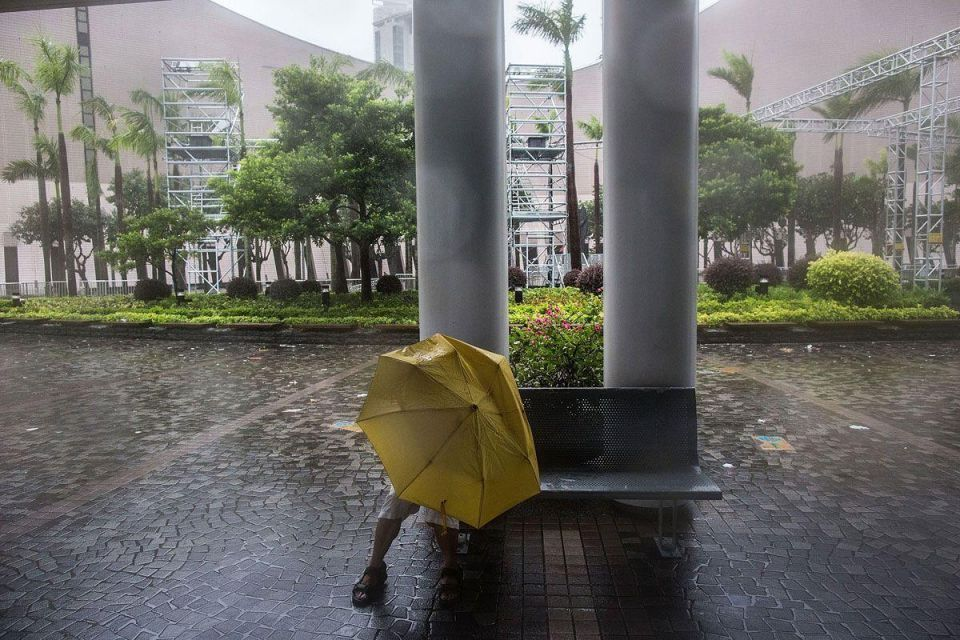 In pictures: Typhoon Nida hits Hong Kong