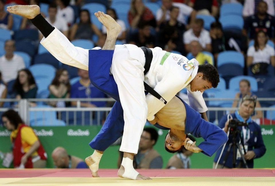 Athletes from the Middle East region on day 1 of Rio 2016 Olympic Games