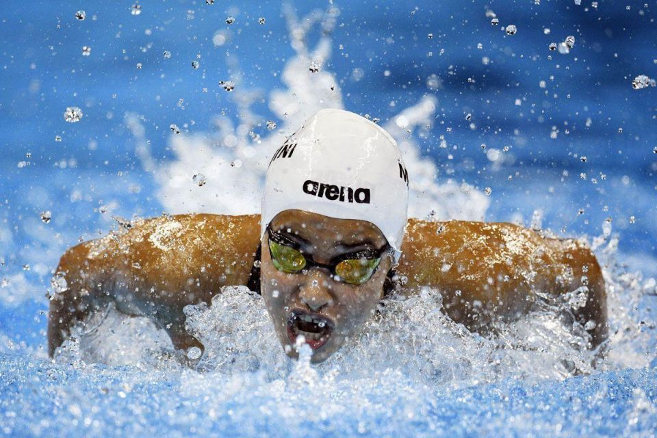 Syrian refugee Mardini a winner in the Olympic water
