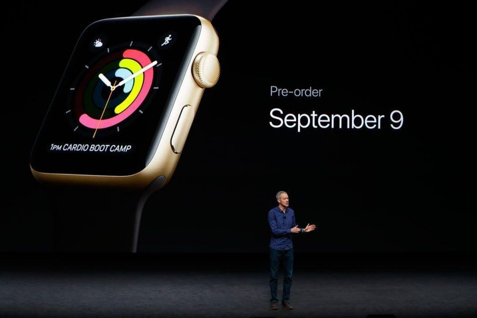 In pictures: Apple unveils its new iPhone 7 and new Apple watches
