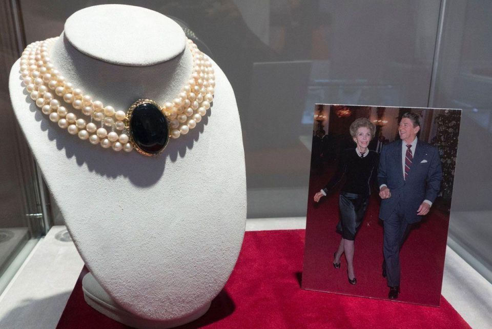 In pictures: Christie's to auction private collection of Ronald and Nancy Reagan