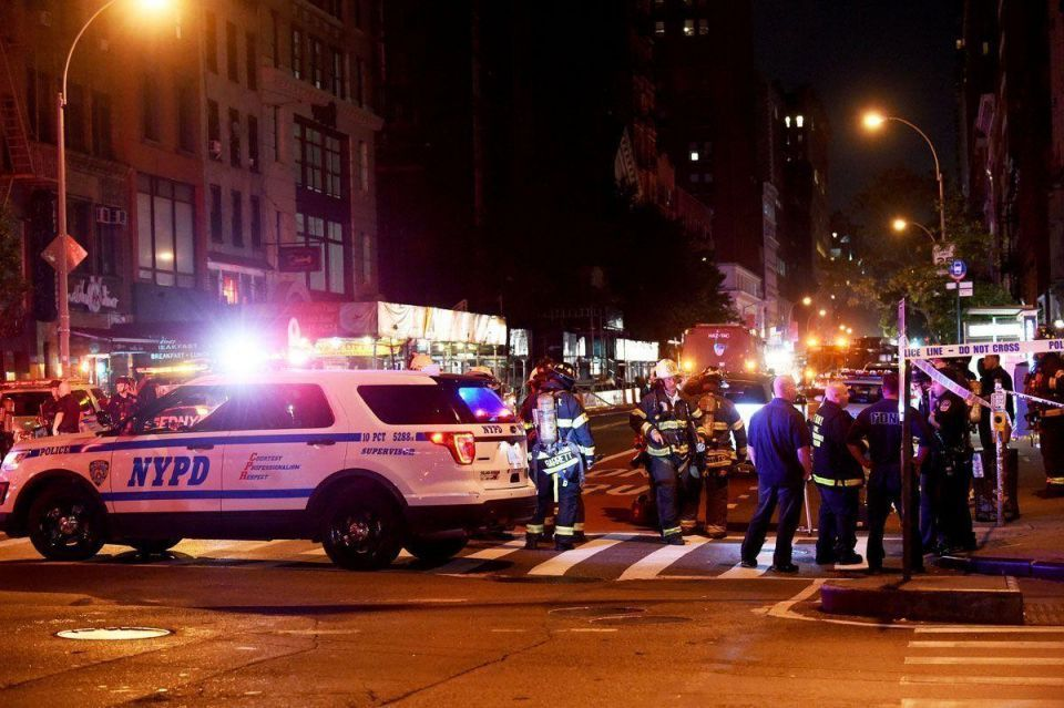 Secondary device found as New York authorities investigate 'intentional' explosion