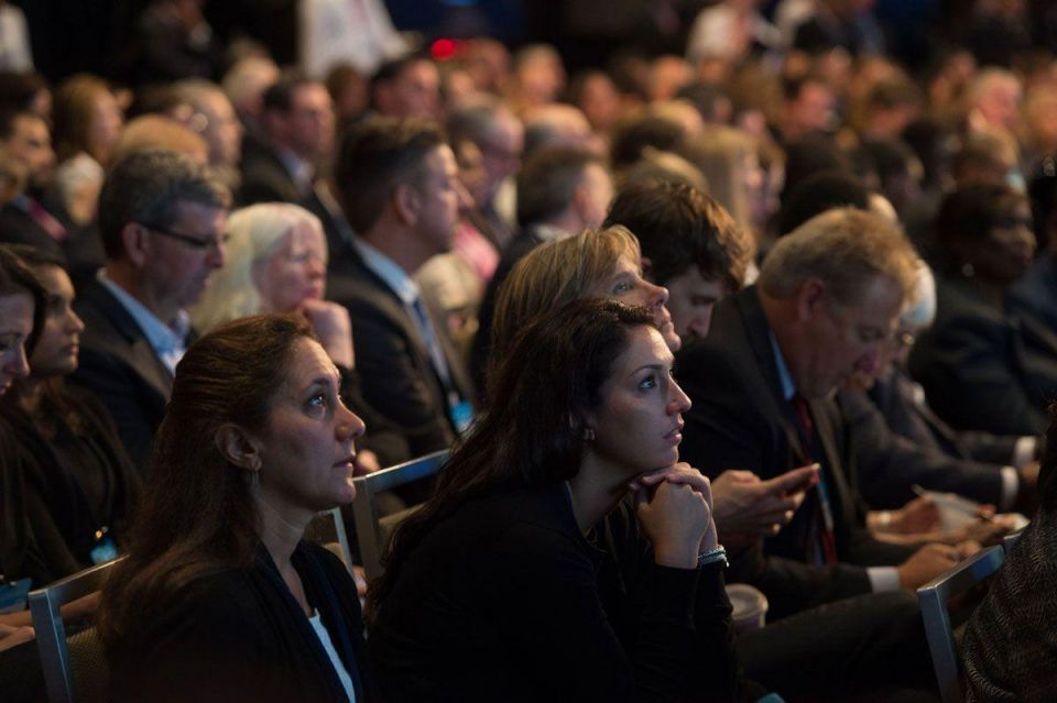 In pictures: Queen Rania of Jordan attends Clinton Global Initiative annual meeting