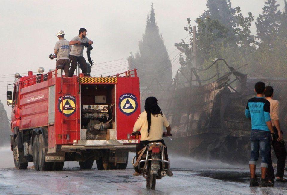 Red Cross postpones aid convoys after Aleppo attack