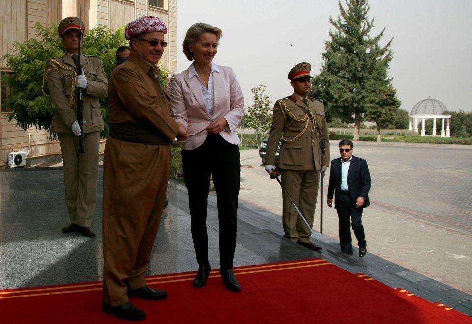 In pictures: German Defence Minister Ursula von der Leyen travels to Iraq
