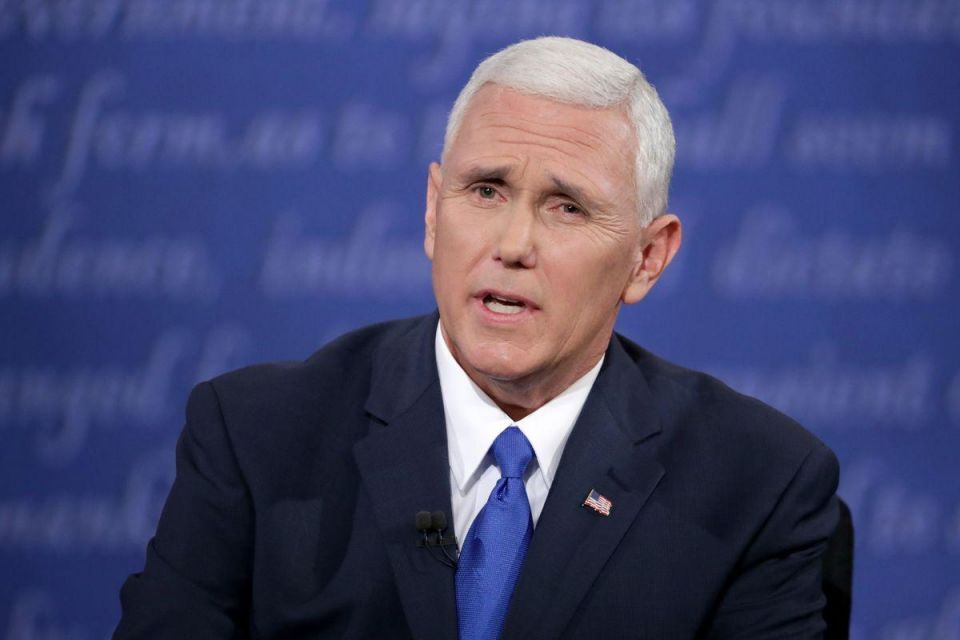 Pence takes harder line than Trump on Russia at contentious US VP debate
