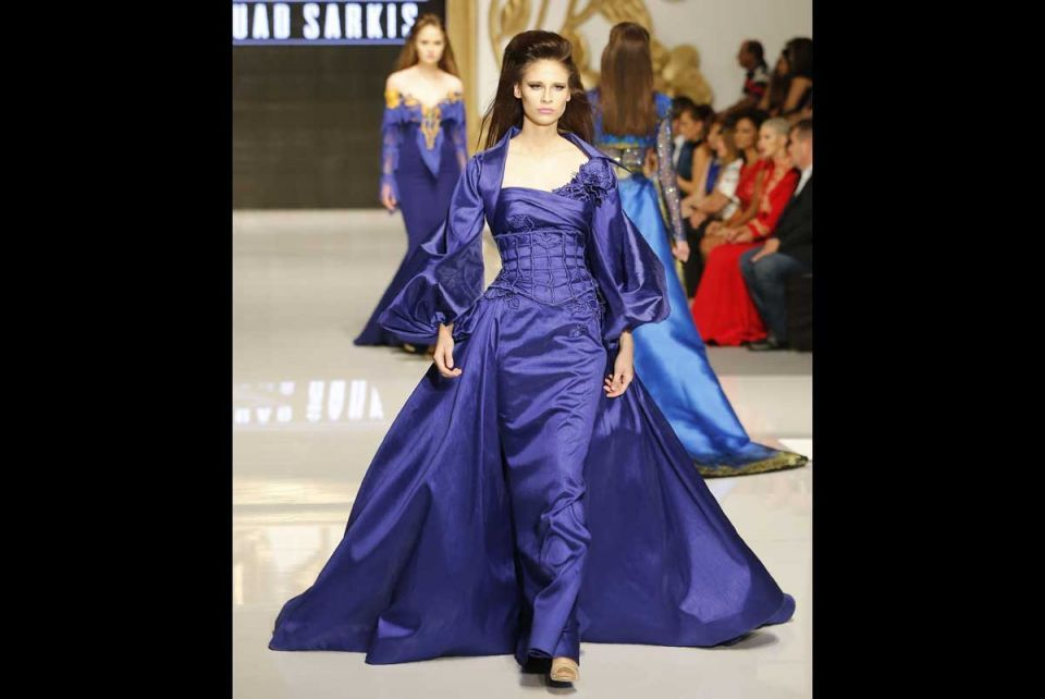 In pictures: Beirut Fashion Week 'La Mode A Beyrouth'