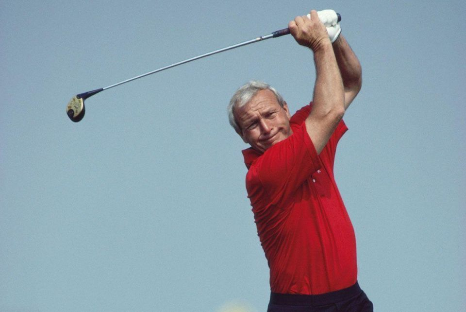 In pictures: Arnold Palmer - a golfing legend