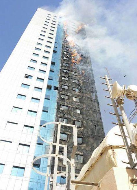 Sharjah blaze building 'had faulty hoses, alarms'