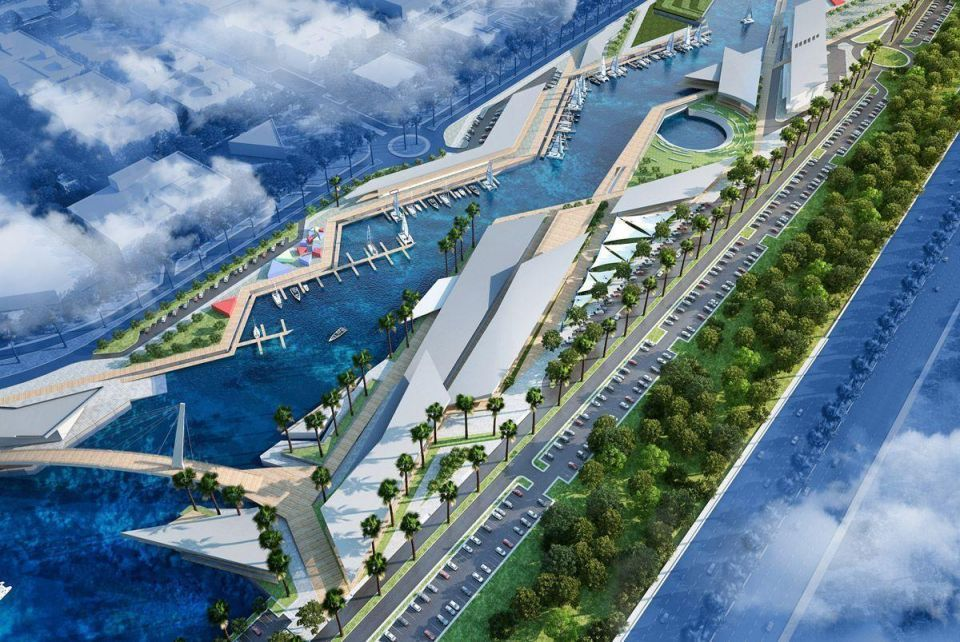 In Pictures: Abu Dhabi's new marina project Al Qana