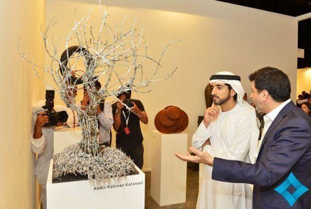 Sheikh Hamdan opens the 10th edition of Art Dubai