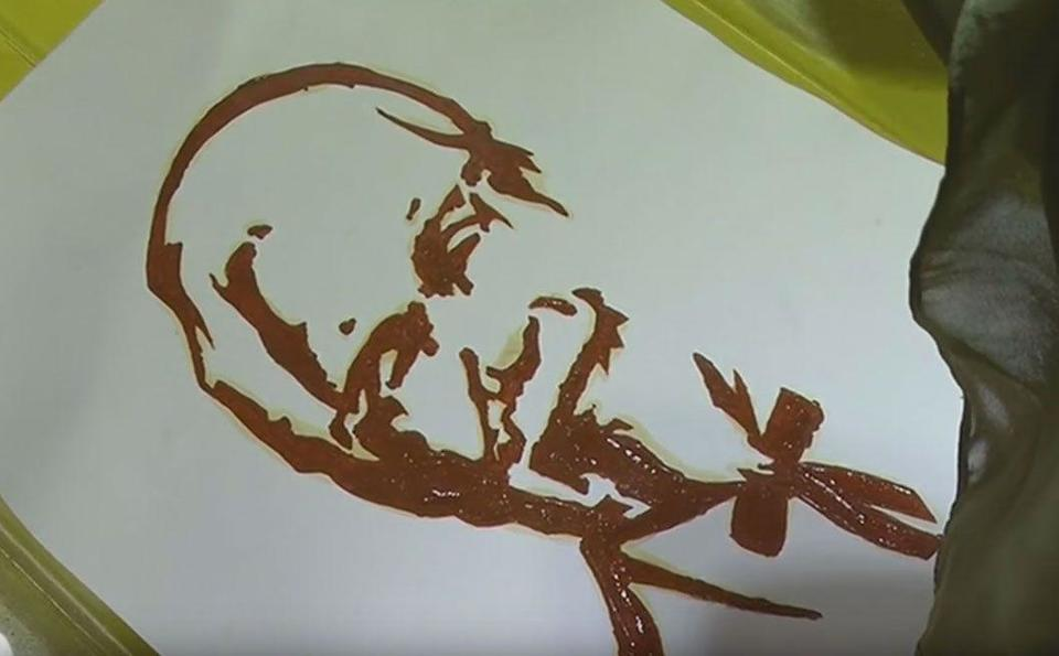 Video: Creativity through love of art and food