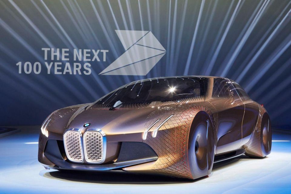 In Pictures: BMW Vision Next 100