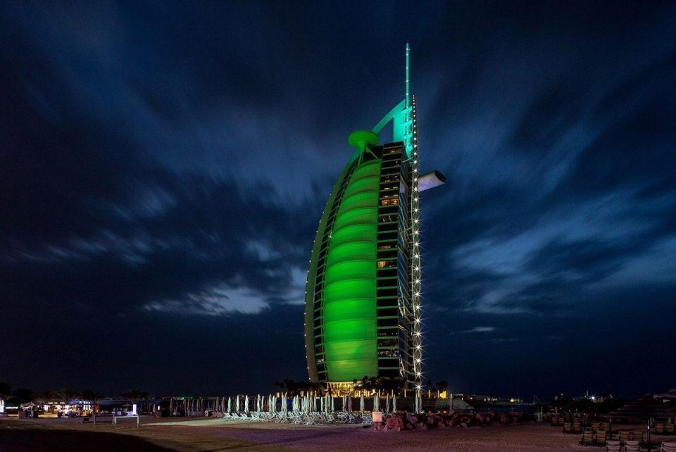 UAE goes green for St Patrick's Day