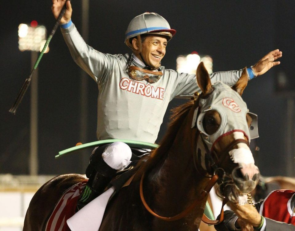 'Dirt superstar' California Chrome wins $10m Dubai Cup