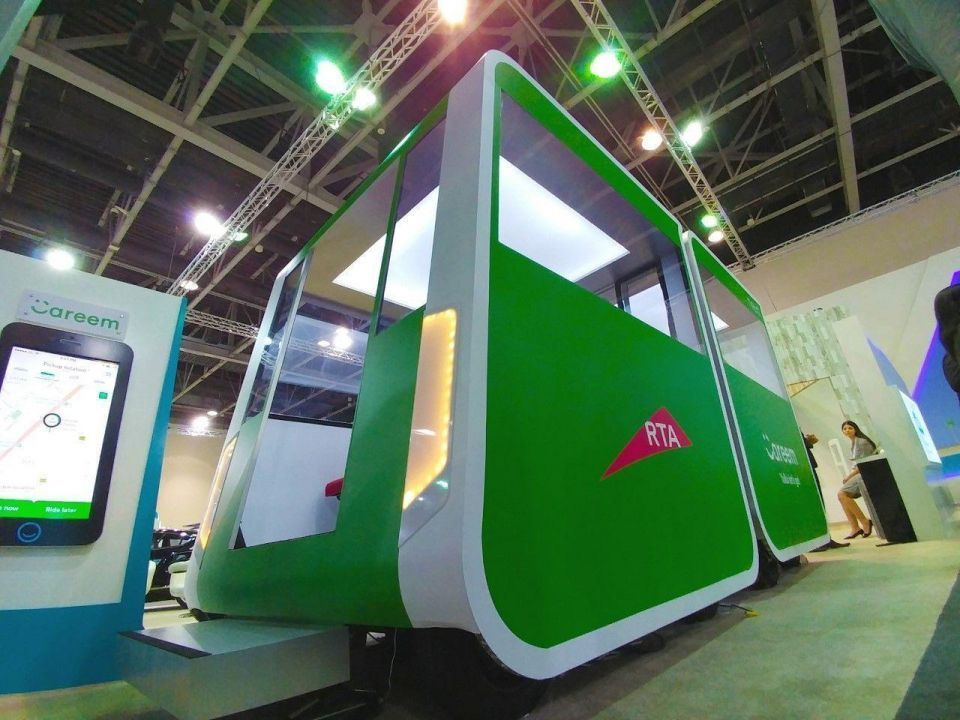 Dubai's Careem says to launch driverless pod tests 'within a year'