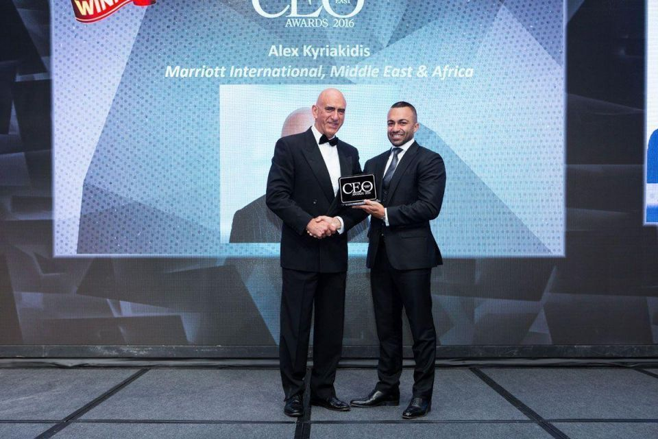 In pictures: CEO Middle East Awards 2016 winners