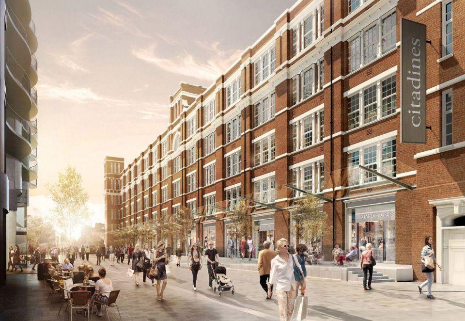 Singapore-Qatar fund acquires $74m apartment scheme in London
