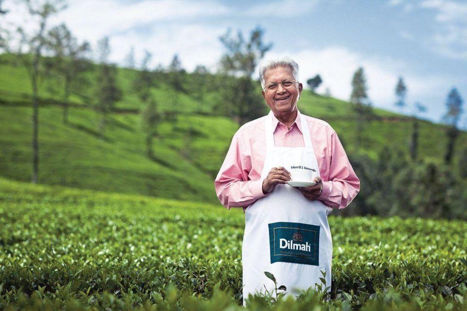 Sipping success: Nobel Peace Prize honouree Merrill Fernando