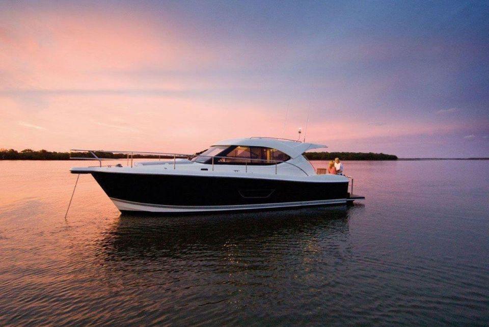 Revealed: Luxury yachts on display at the Dubai International Boat Show