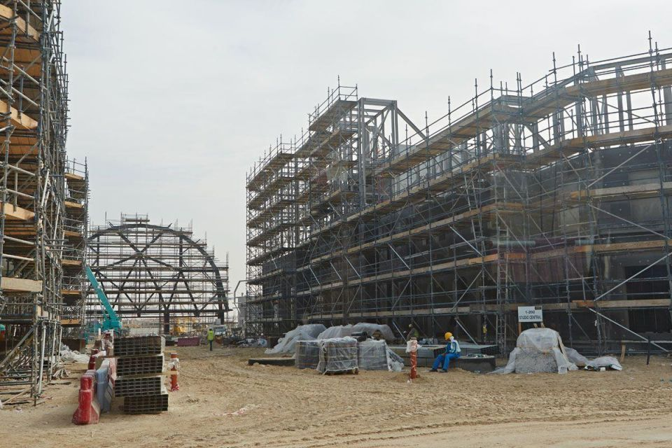 Dubai theme park begins to take shape