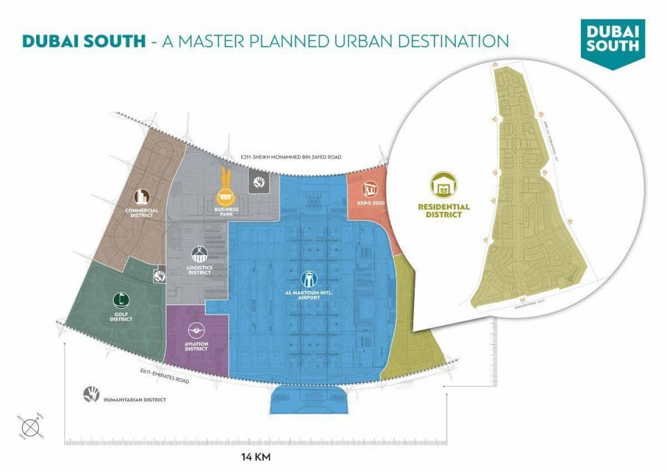 Dubai South awards $272m in contracts for Residential District