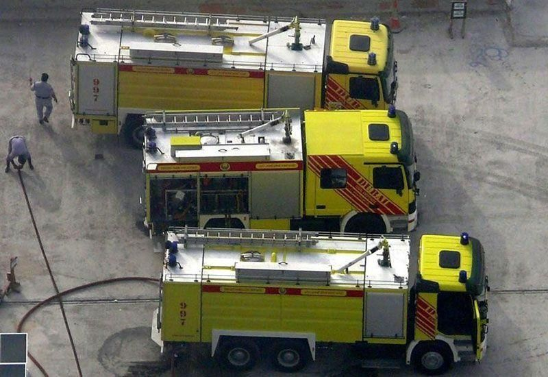 Dubai firefighters called to 322 fires this year