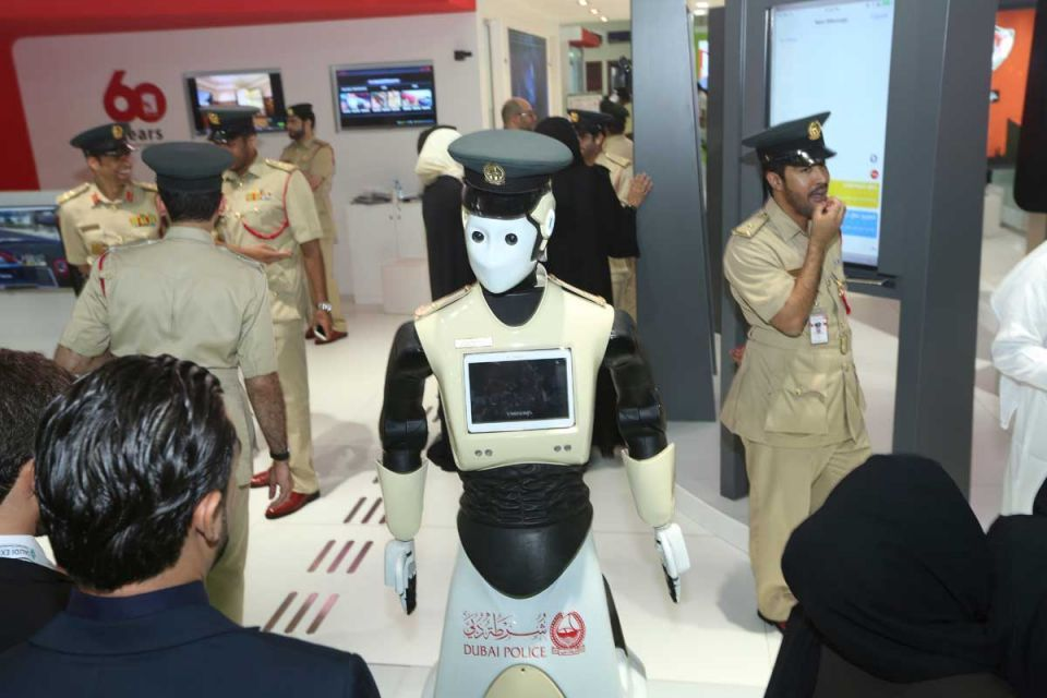 Robocops set for Dubai streets within months