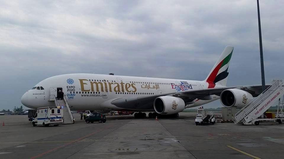 Emirates A380 damaged following emergency landing in Poland