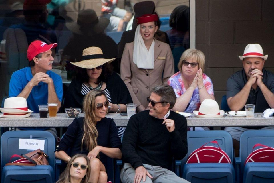 In pictiures: Emirates adds glamour to tennis action at the 2016 US Open