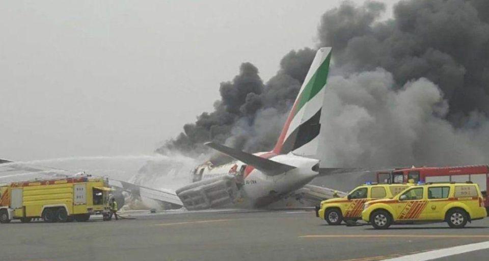 UAE issues warning over sharing plane crash photos