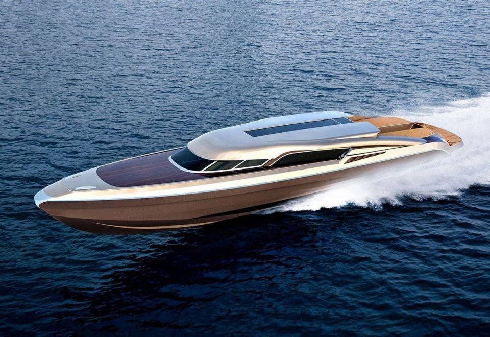 Every superyacht needs a water limo like this
