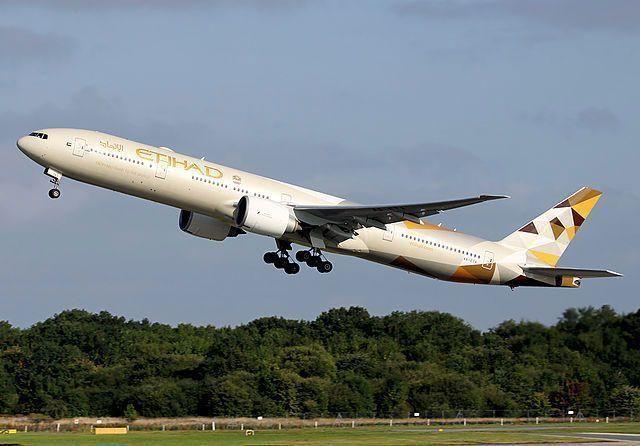 Etihad Airways flight in emergency landing following engine failure
