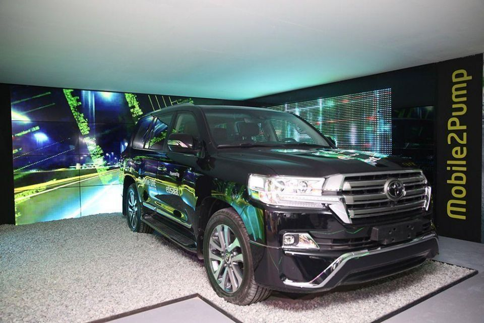 In pictures: GITEX 2016 - Cars and glamour