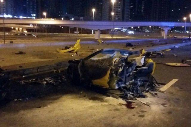 Dubai prosecutor cites 'speed, drinking' in fatal Ferrari crash