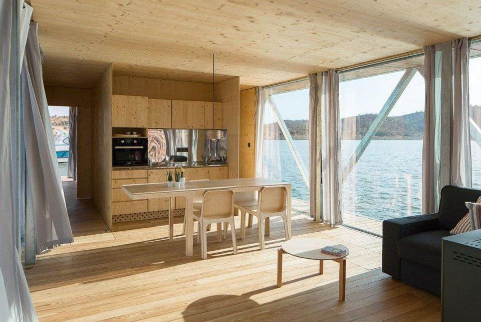 The floating house: Inside the houseboat at Dubai International Boat Show