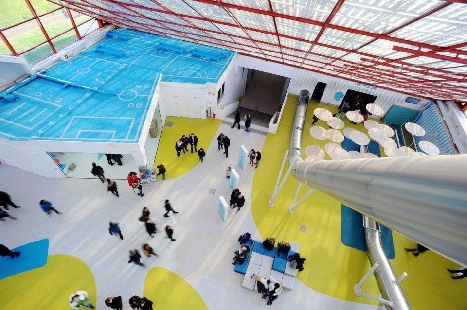 Futuroscope theme park in France