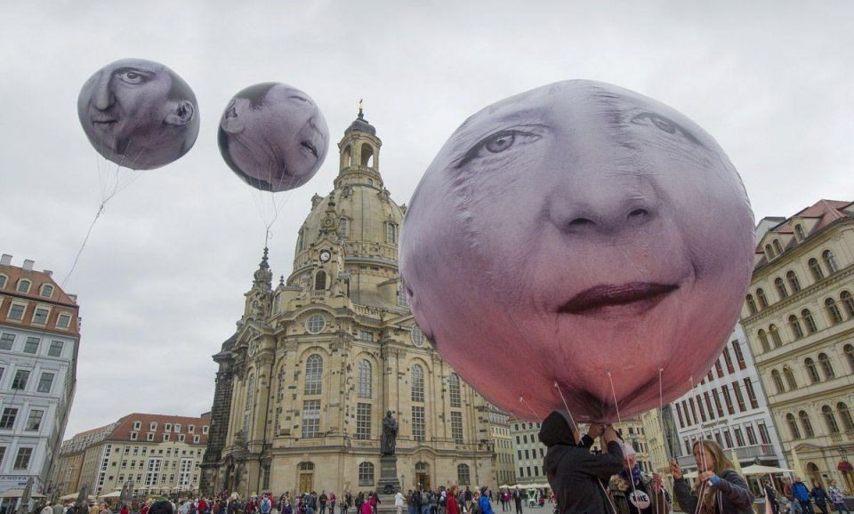 Protests ahead of G7 summit in Dresden